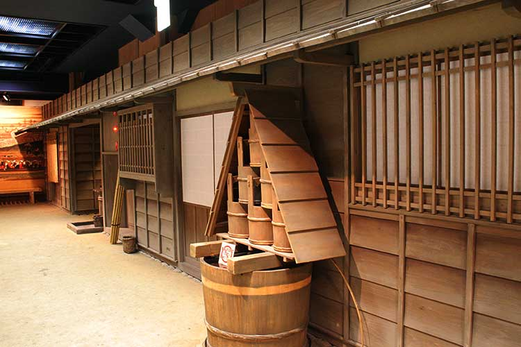 The town of the Edo period in Nagoya-3F[6/23]