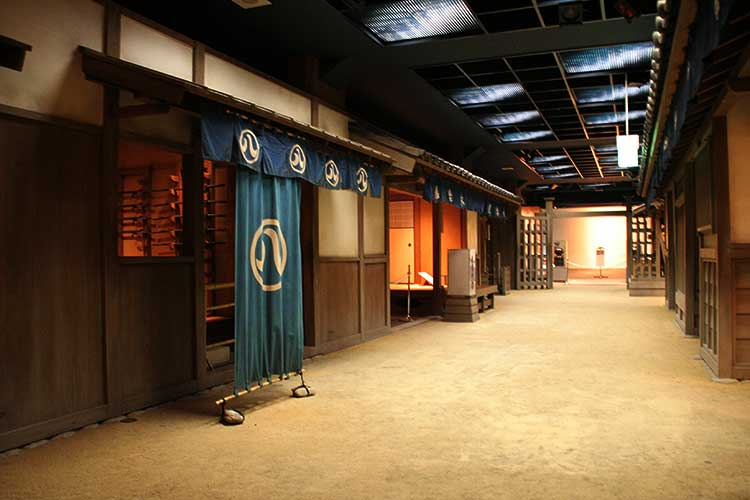 The town of the Edo period in Nagoya-3F[10/23]
