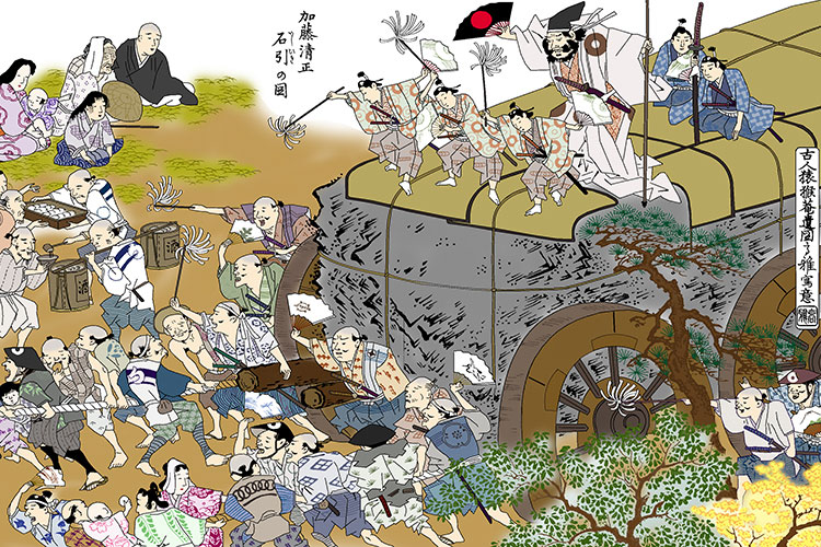 Picture of Kiyomasa Pulling Stone[2/18]