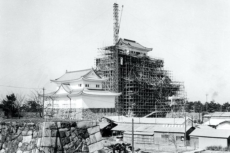 Reconstruction of Nagoya Castle -1959 completion[16/18]