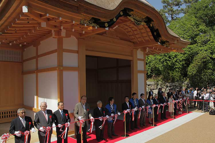 The 1st term construction completion commemorative ceremony(May 23, 2013)[15/18]